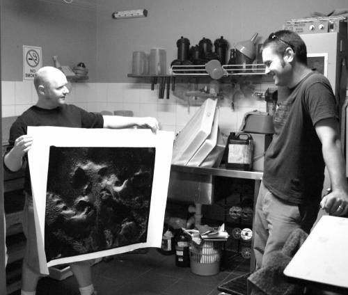 Blanco negro darkroom