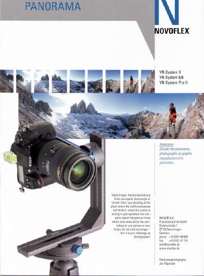 Novoflex Pano cover