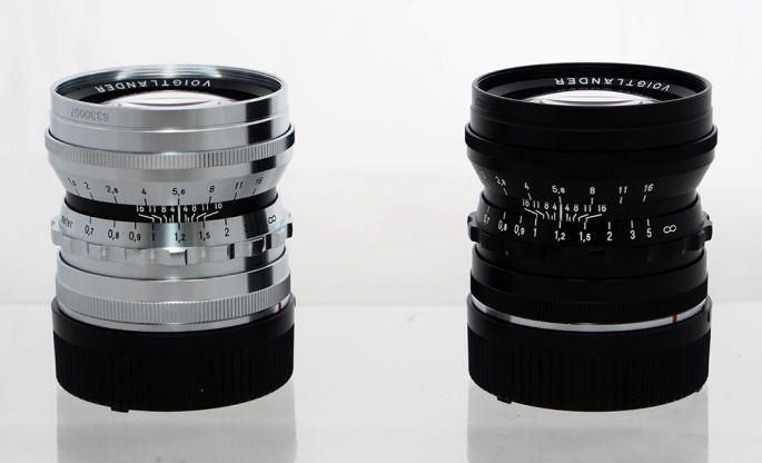 Our Matched Pair of Voigtlander Noktons