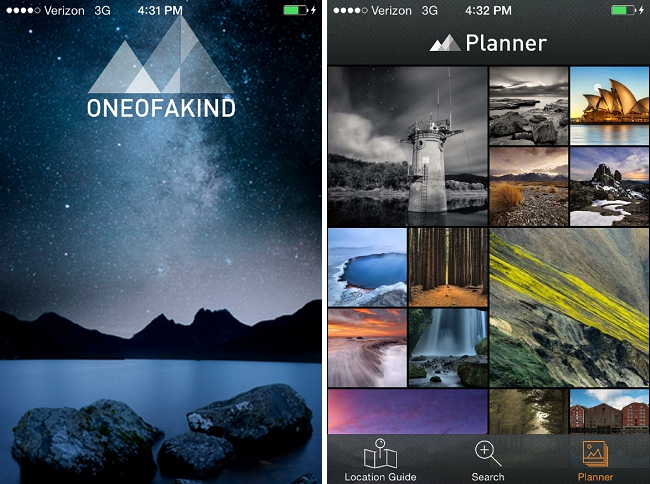 One_of_a_kind_app_launch